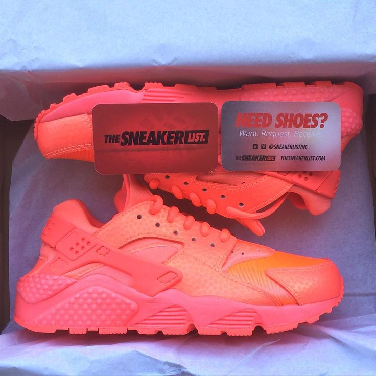"""""""Nike Women's Air Huarache Hot Lava *ALL SHOES ARE SOLD BY REQUEST! TheSneakerList.com click """"Shoe Inquiry"""" and submit your request."""""""