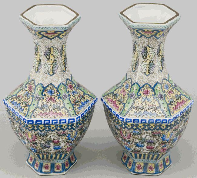 Jingdezhen Porcelain Pottery Vase |  Contemporary, Jingdezhen China, Porcelain (Ci) | Price: $295.00 Sale price: $191.75