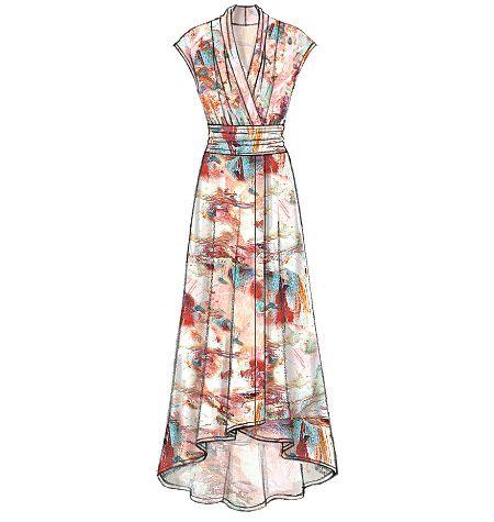 fit n flare maxi dress tutorial