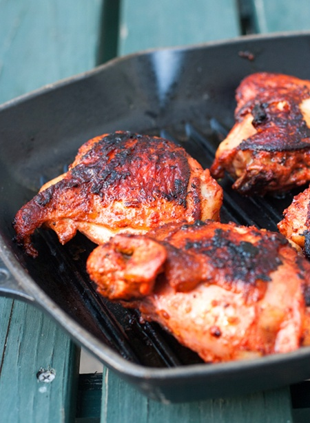 12.   Tandoori Chicken