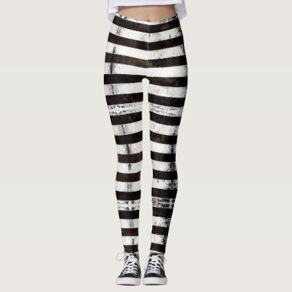 Prison Inmate Costume Leggings - white gifts elegant diy gift ideas