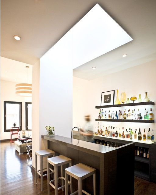 Contemporary Home Bar Design Ideas: 17 Best Ideas About Modern Home Bar On Pinterest