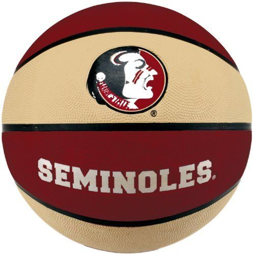 NCAA Florida State Seminoles Collegiate Deluxe Official Size Rubber Basketball by Baden. $17.99