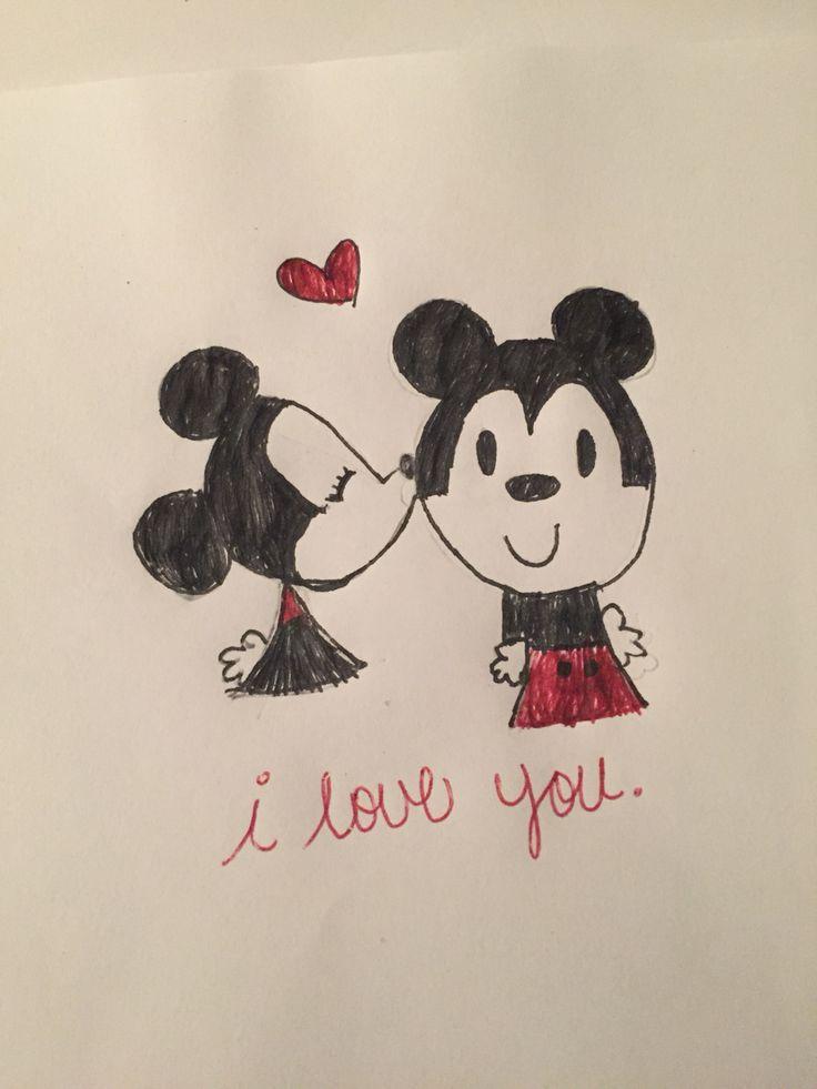 Minnie and Mickie.