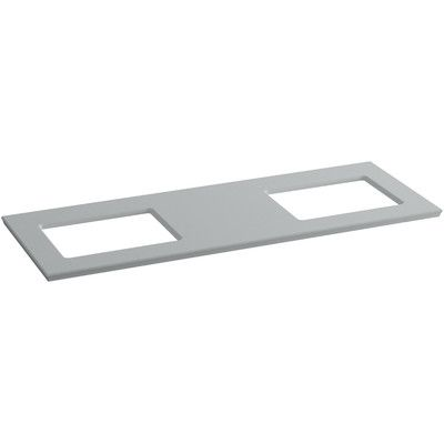 Kohler Solid Expressions 62 Quot Double Bathroom Vanity Top Bathroom Vanity Tops Double Vanity