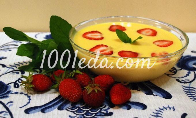 Пшенный крем-суп с тыквой для детей в мультиварке