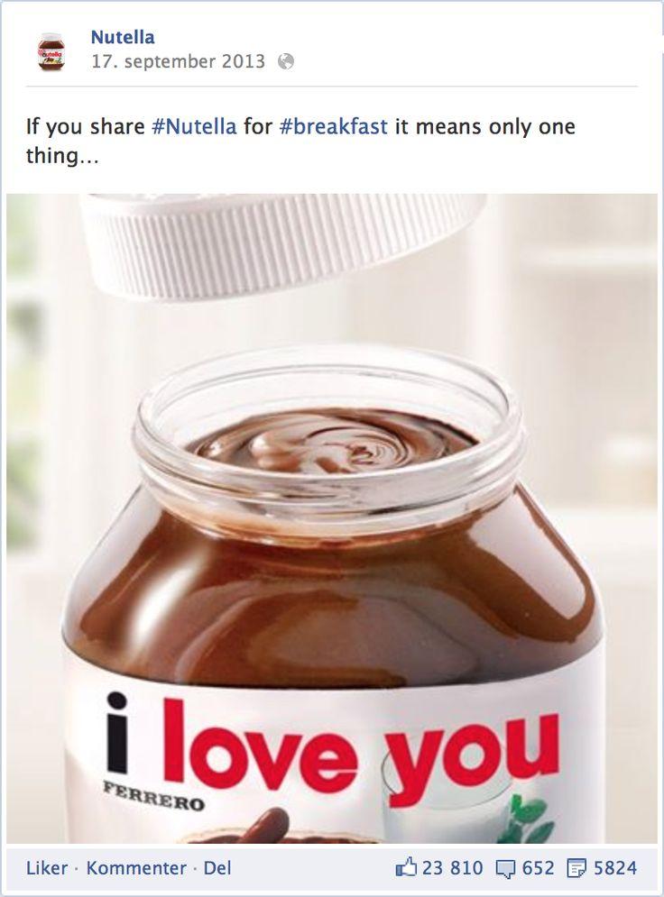 http://facebook.com/Nutella