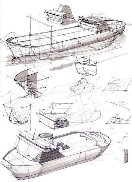 Crating in boat design, Koos Eissen.
