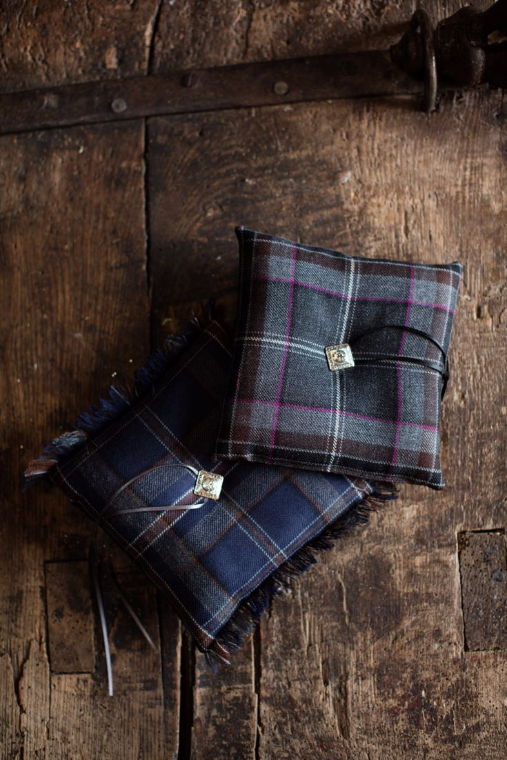 Why not gift one of our tartan ring cushions to a bride-to-be to add Scottish touch to their wedding ceremony? The cushions are available in a wide range of tartans, including our MacGregor and MacDuff exclusive tartans.