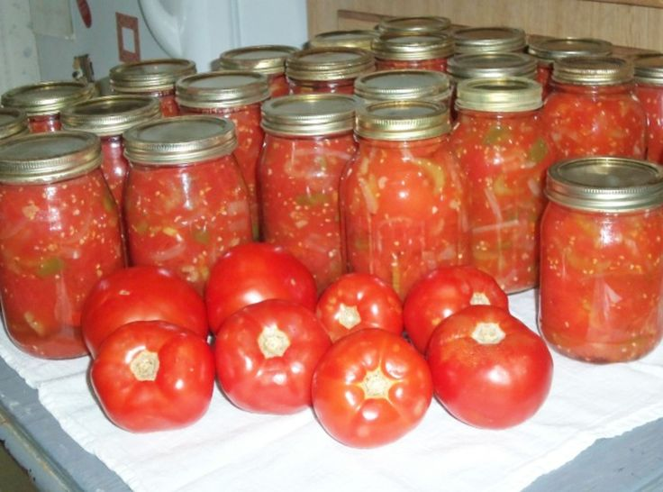 CANNED STEWED TOMATOES. This recipe is close to an old one I've tried. I might like it.