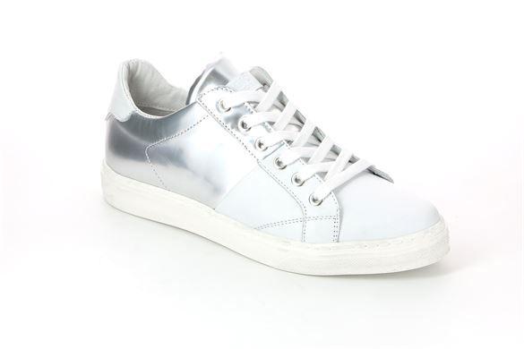 Sneaker da donna in pelle bianco - PUNT SC3303 COLORE BIANCO-ARGENTO | Grünland ®