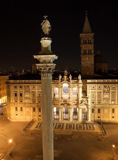 Rome - Basilica Santa Maria Maggiore, province of Rome Lazio