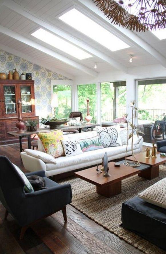 Die besten 25+ Sofa bar Ideen auf Pinterest Barplatten, Alten - bunte retro wohnideen zeitgenossischem flair