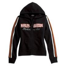 Women's Activewear Jacket with Sleeve Stripe | MotorClothes® Merchandise | Harley-Davidson USA