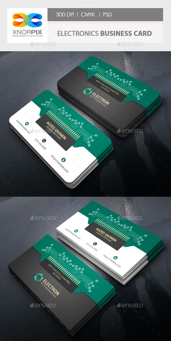 Electronics Business Card Business Cards Layout Electronic Business Graphic Design Business Card