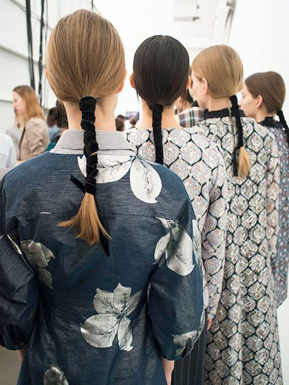 Hairstyles From NYFW We're Obsessed With - Fall 2016 - Suno   allure.com