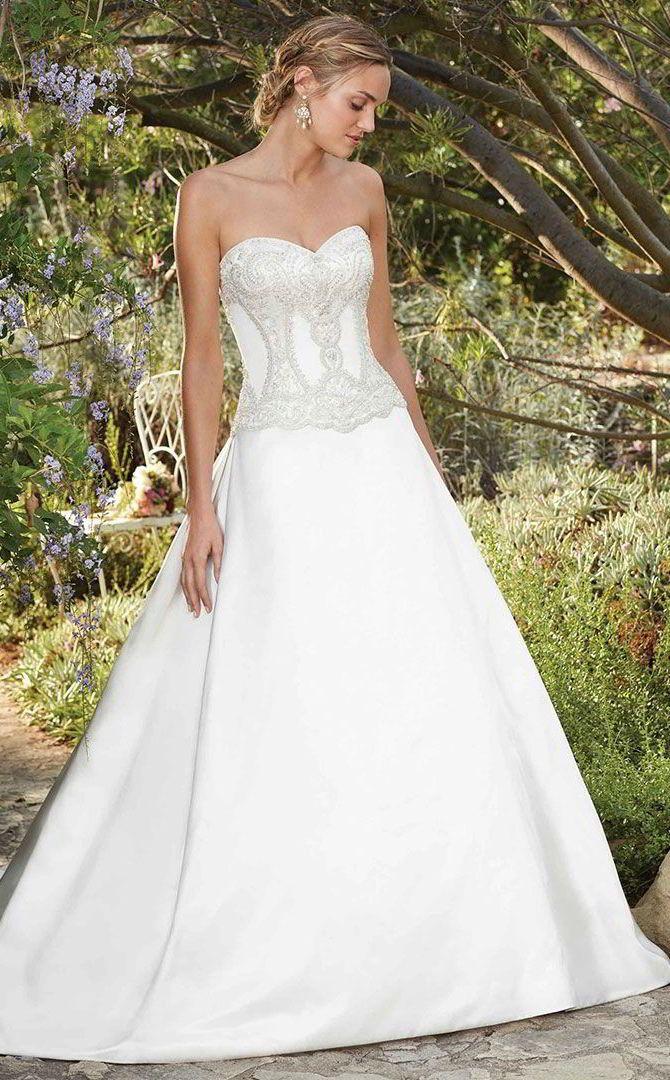 Casablanca Bridal Spring 2017 Wedding Dresses Aline