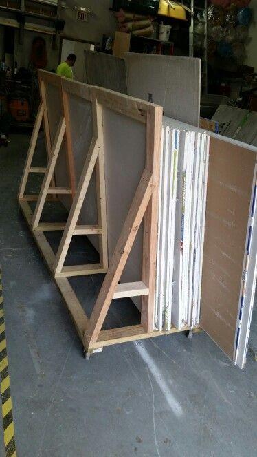 Drywall rack