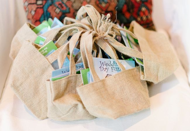 Keep kids occupied at the wedding with activity bags
