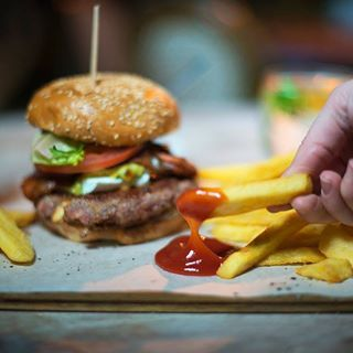 Today is #hamburgerday2018 and we're rather excited to tuck in to one of these delicious burgers! What better way to start your week than with a burger! (Especially in this pouring rain!)#Peddlars #eateateat #eatout #capetownburger #grillparty #mondaymotivation #happymonday #burgersandfries #burgerparty #burgerlovers #nationalburgerday #burgerday2018 #hamburgerday