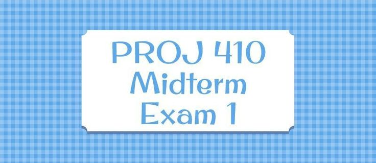 PROJ 410 Midterm Exam 11. (TCO 2) An offshoot of business process outsourcing which requires a greater skill or knowledge of the industry or inner workings of a firm is:2. (TCO 3) How are the procurement responsibilities divided between the project manager and contract administrator?3. (TCO 4) What