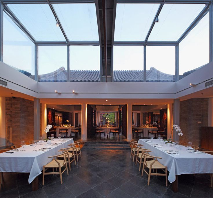 Vegetarian restaurant King's Joy - Beijing. By architects Atelier FCJZ (Yung Ho Chang)