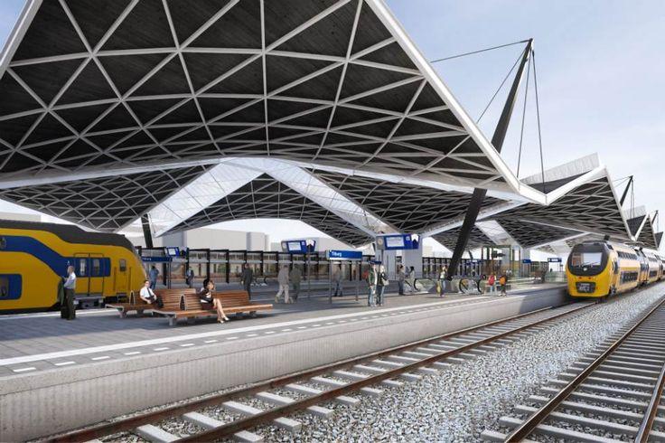 Impressie Station Tilburg zuidkant