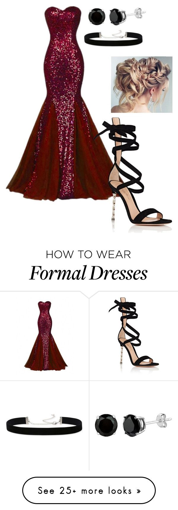 """Untitled #272"" by thominewtandmyoc on Polyvore featuring Gianvito Rossi and 2028"