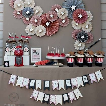 Birthday Party Ideas for Kids  Vintage, Birthdays and Passion