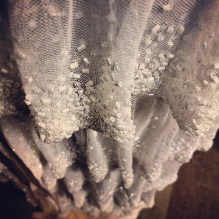 Tulle and chiffon