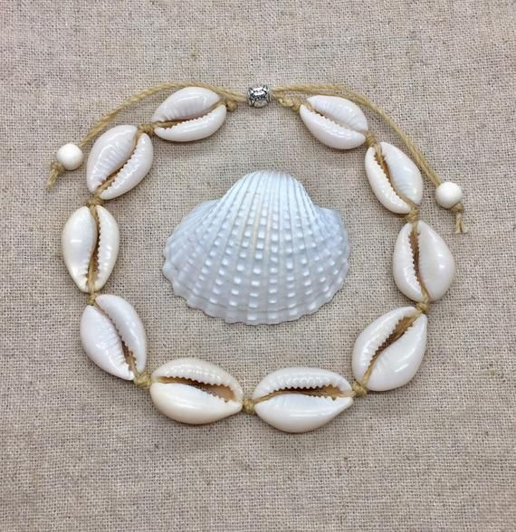 Cowrie Shell Anklet Mermaid Jewelry Etsy Mermaid Jewelry Cowrie Shell Anklet