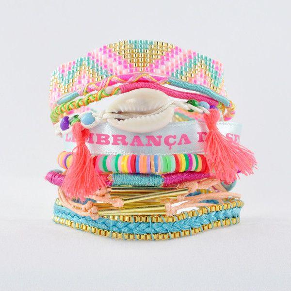 HIPANEMA Rainbow Bracelet | La Luce http://shoplaluce.com/collections/hipanema/products/hipanema-rainbow-bracelet