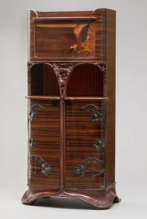 Cabinet, French (Nancy), about 1900  Designed by Louis Majorelle