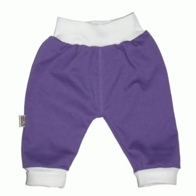 Pantalon violet en 100% coton pour bébé http://simedio.fr