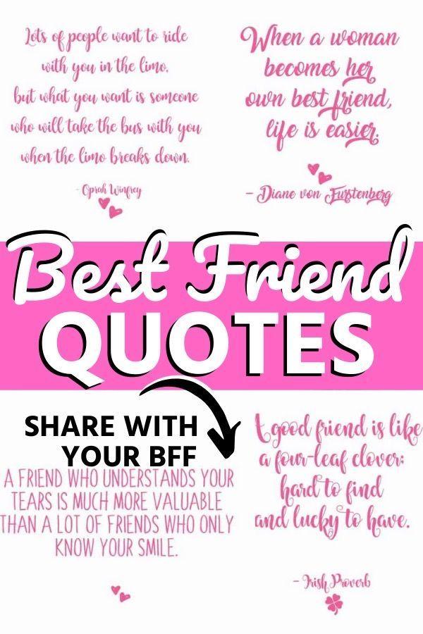 Best Friend Quotes In 2020 Best Friend Quotes Friends Quotes True Friendship Quotes