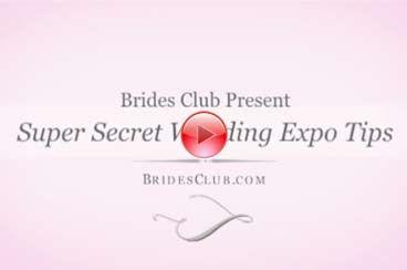 Super Secret Wedding Expo Tips from Brad Buckles!