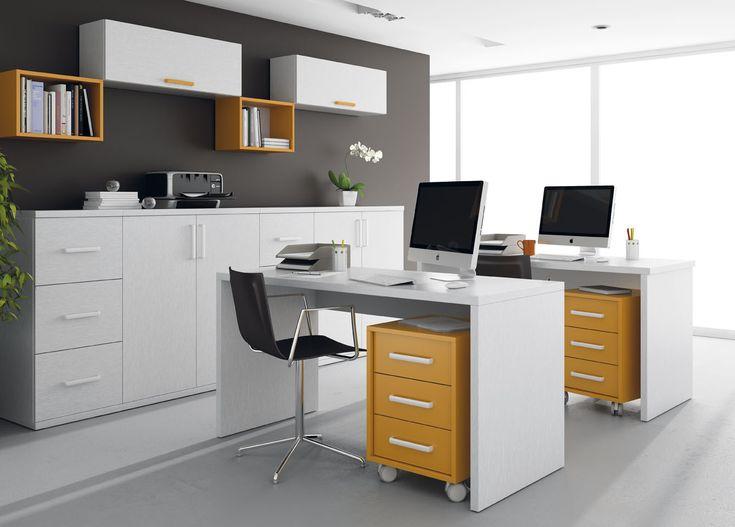 Con los #muebles de #oficina de @mobiofic.com mobiliario de oficina Ros no querrás irte del trabajo.