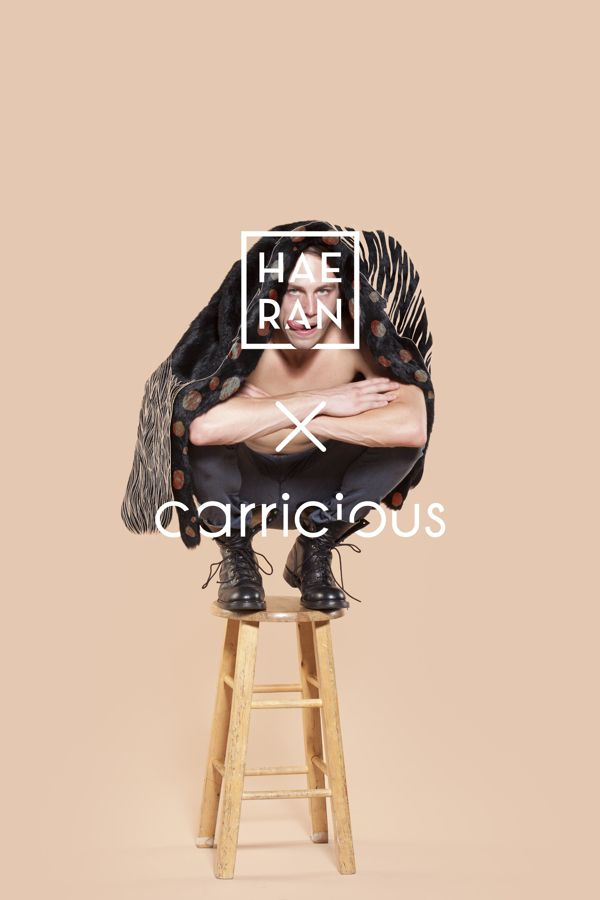 HAERAN X carricious by Carrie chang, via Behance