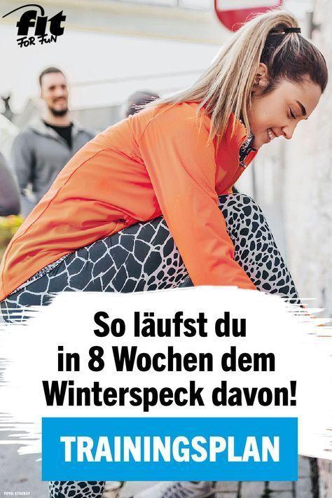 Trainingsplan Laufen: 8-Wochen-Plan gegen den Winterspeck