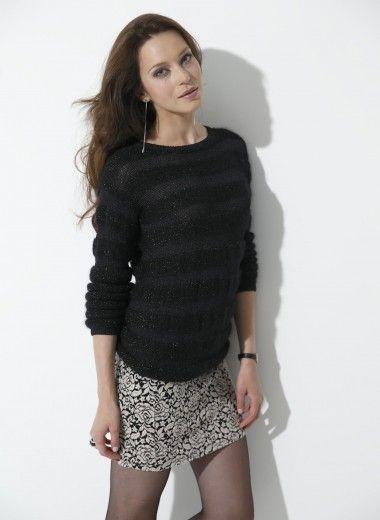 Les 1599 meilleures images propos de tricot et crochet sur pinterest motif gratuit mod les - Broderie sur tricot point mousse ...