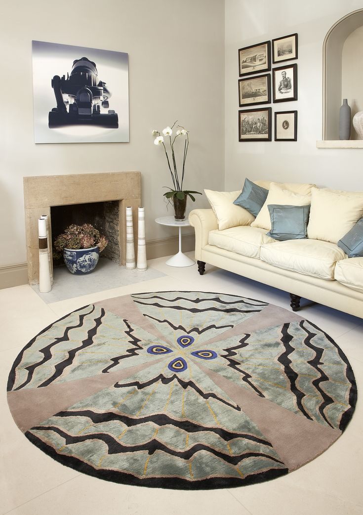 'Psyche' from the Butterfly Collection, Deirdre Dyson carpet.