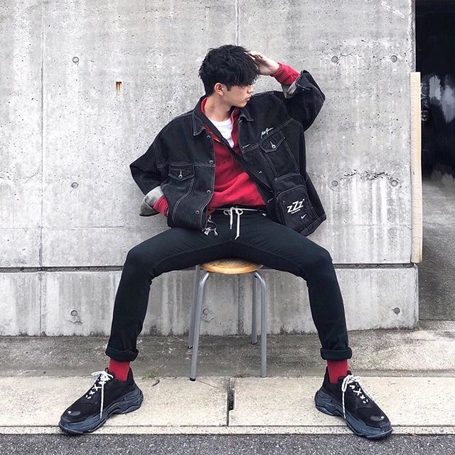 Pin By Idan Siles On Street In 2020 Kpop Fashion Men Korean Fashion Men Mens Fashion Edgy