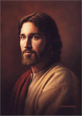 """""""Redeemer"""" by Simon Dewey Favorite picture of Christ."""
