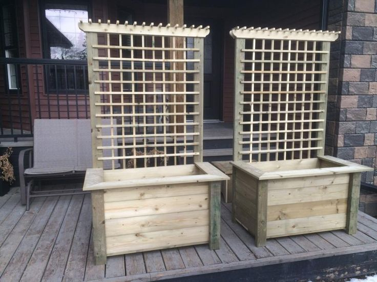 Planters,bench, kids table and chairs for outdoors - Woodworking creation by Sheri - WoodworkingWeb