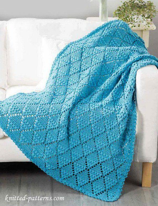 Lace Throw Crochet Pattern Free.