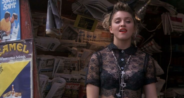 Desperately Seeking Susan_Madonna_lace and bra mid