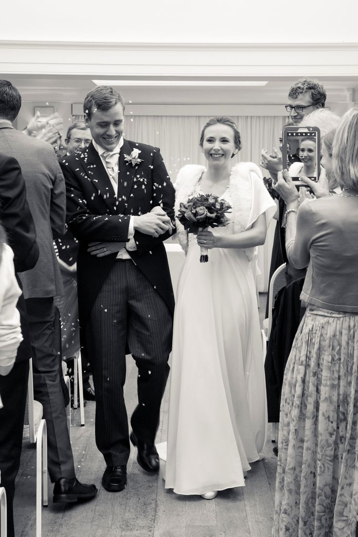 Beautiful winter bride. Roberta is wearing the Apollonia faux fur bridal jacket by Blanche in the Brambles.