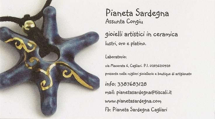Pianeta Sardegna - gioelli in ceramica