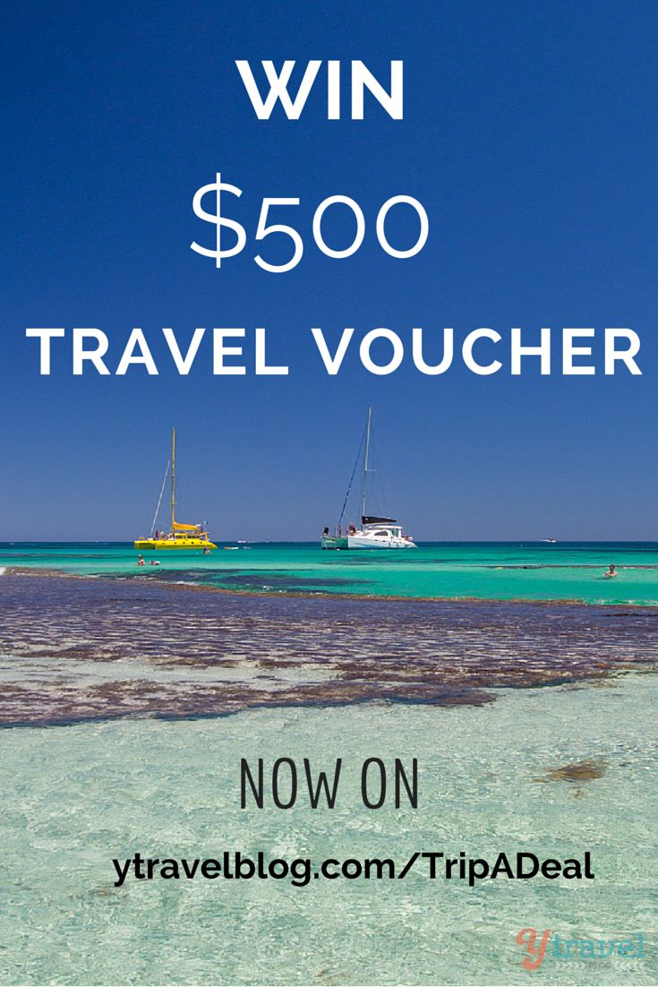 Win a $500 travel voucher from TripADeal.   An online travel store with luxury holidays and packages at discounted prices.