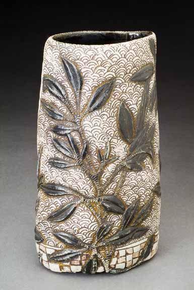 Sarah heimann sgraffito carving pottery